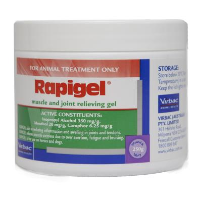 Rapigel Muscle And Joint Gel For Dogs And Horses 250g
