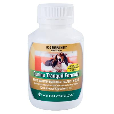 Vetalogica Canine Tranquil Formula For Dogs x 120 Tablets