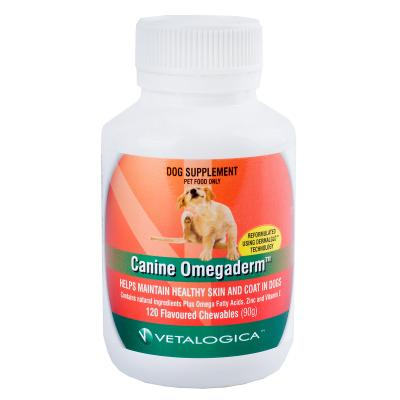 Vetalogica Canine Omegaderm For Dogs x 120 Tablets