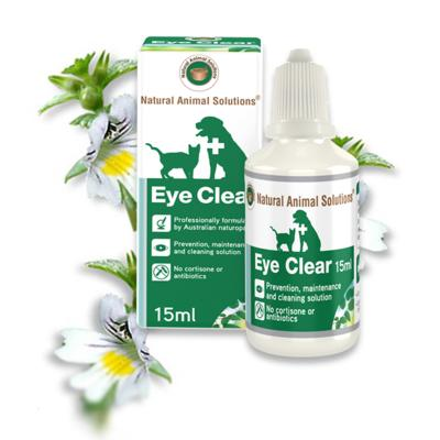 Natural Animal Solutions(NAS) Eye Clear For Dogs And Cats 15ml