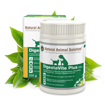 Natural Animal Solutions (NAS) DigestaVite Plus For Dogs And Cats 100gm