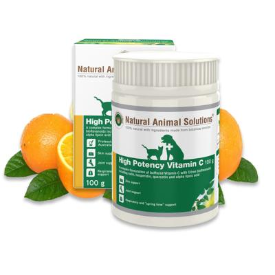 Natural Animal Solutions (NAS) High Potency Vitamin C For Dogs And Cats 100gm
