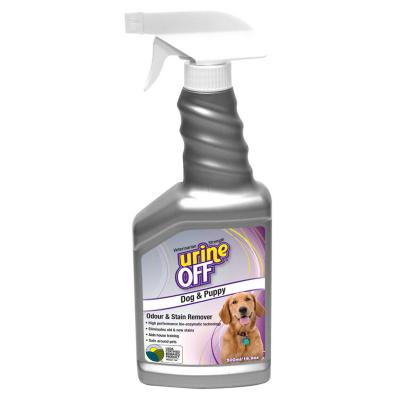 Urine Off Odour & Stain Remover for Dogs & Puppies 500ml