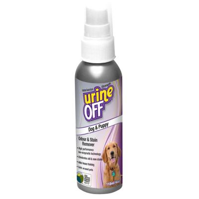 Urine Off Odour & Stain Remover for Dogs & Puppies 118ml