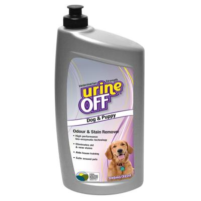 Urine Off Odour & Stain Remover for Dogs & Puppies 946ml