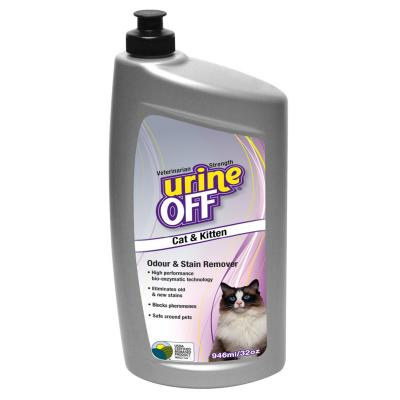 Urine Off Odour & Stain Remover for Cats & Kittens 946ml