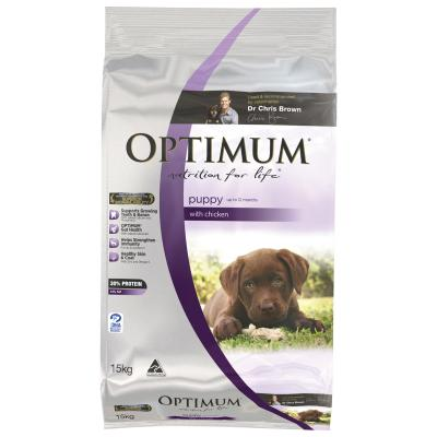Optimum Chicken Puppy Dry Dog Food 15kg