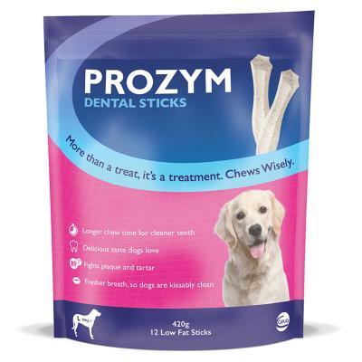 Prozym Dental Sticks Large For Dogs Over 20kg 12 Pack