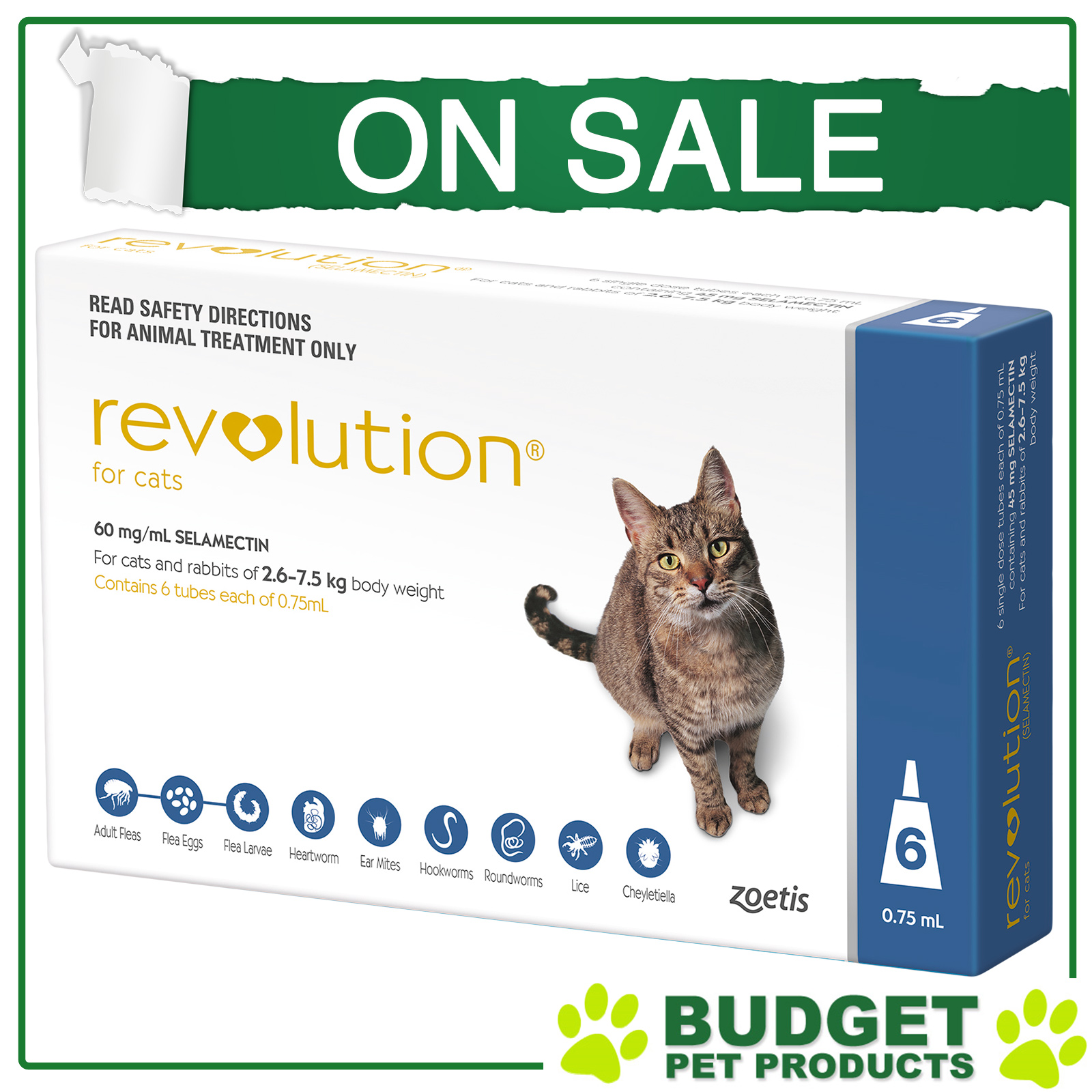 Revolution For Cats All Sizes Ebay