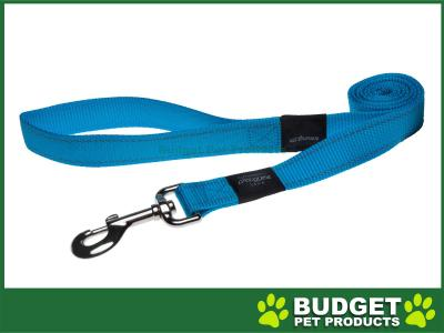 Rogz Utility Reflective Lead Turquoise XLarge For Dogs