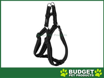 Rogz Utility Lumberjack Reflective Step-In Harness Black XLarge For Dogs 67-103cm x 25mm