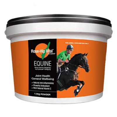 Rose Hip Vital Equine 1.5kg New Larger Size Tub