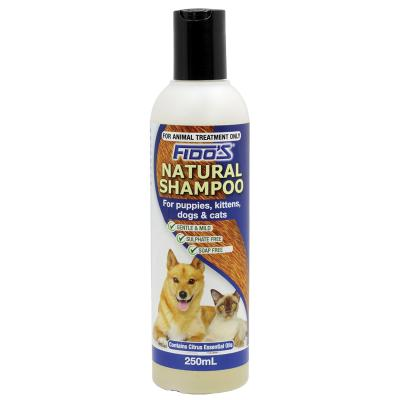 Fidos Natural Shampoo For Dogs And Cats 250ml