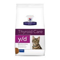 Hills Prescription Diet Feline y/d Dry Cat Food 1.8kg (1497)