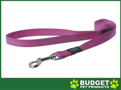 Rogz Utility Reflective Lead Pink XLarge For Dogs