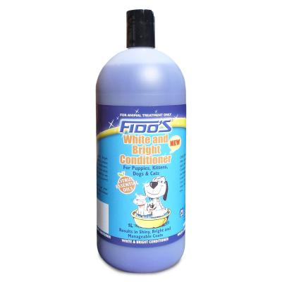 Fidos Conditioner White And Bright For Dogs And Cats  1L