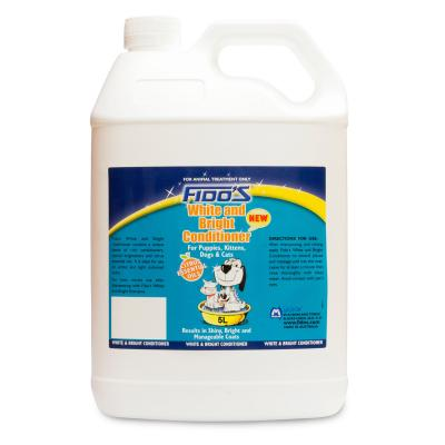 Fidos Conditioner White And Bright For Dogs And Cats 5L