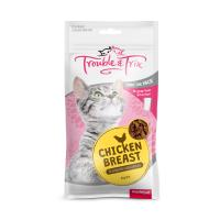 Trouble & Trix Treats Chicken Breast For Cats 85gm