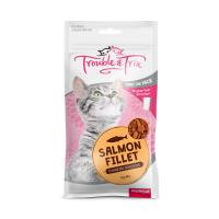 Trouble & Trix Salmon Fillet Treats For Cats 85gm