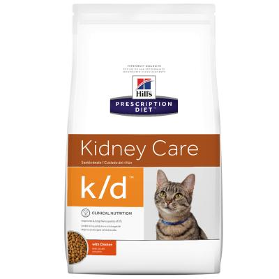 Hills Prescription Diet Feline k/d Kidney Care With Chicken Dry Cat Food 3.85kg (8696)