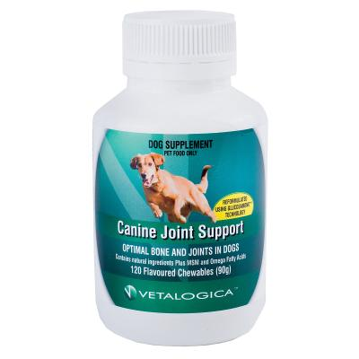 Vetalogica Canine Joint Support For Dogs x 120 Tablets