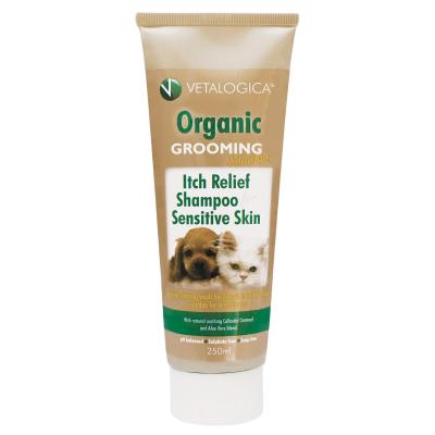 Vetalogica Itch Relief Shampoo for Sensitive Skin For Dogs and Cats 250ml