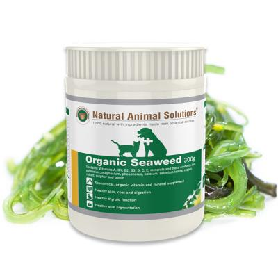 Natural Animal Solutions (NAS) Organic Seaweed For Dogs And Cats 300gm