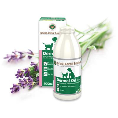 Natural Animal Solutions Dermal Oil For Dogs And Cats 100ml