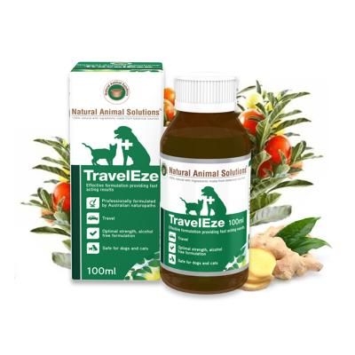 Natural Animal Solutions (NAS) Traveleze For Dogs And Cats 100ml