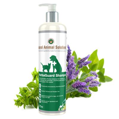 Natural Animal Solutions Herbaguard Shampoo For Dogs And Cats 375ml