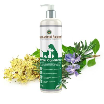 Natural Animal Solutions (NAS) Herbal Conditioner  For Dogs And Cats 375ml