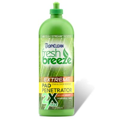 Tropiclean Fresh Breeze Extreme Pad Penetrator Stain & Odour Remover 946ml