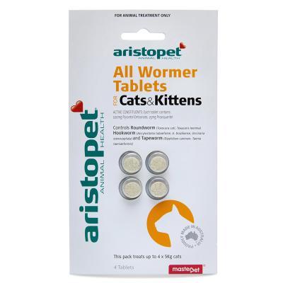 Aristopet AllWormer For Cat And Kittens 4pk