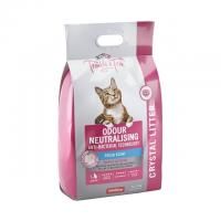 Trouble & Trix Odour Neutralising Anti Bacterial Fresh Scent Crystal Litter For Cats 7L Bag / 2.7kg