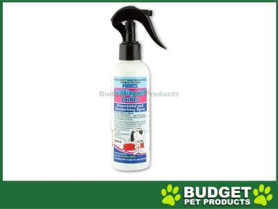 Fidos Bedding And Jacket Deodorising Insecticidal Spray For Dogs 200ml