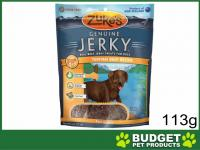 Zukes Beef Jerky Teriyaki Treats For Dogs 113g