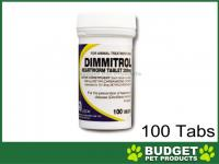 Dimmitrol Daily Heartworm Tablets For Dogs 200mg x 100 Tablets