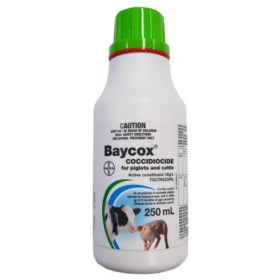 Baycox Coccidiocide Suspension for Pigs and Cattle 250ml