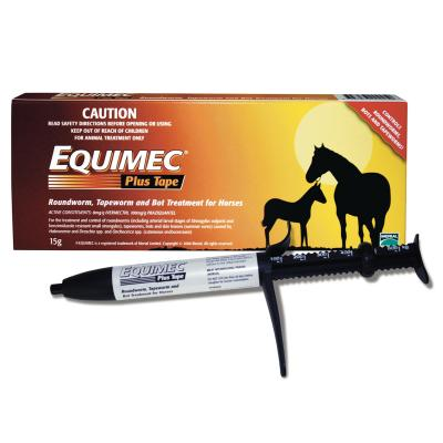 Equimec Plus Tape Wormer For Horses 15g