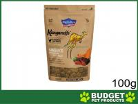 Mighty Raw Kangaruffs Kangaroo With Garden Vegetables Grain Free Treats For Cats 100gm