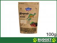 Mighty Raw Kangaruffs Kangaroo With Peas Grain Free Treats For Cats  100gm