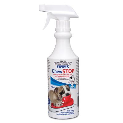 Fidos Chew Stop Bitter Spray For Puppy And Dogs 500ml