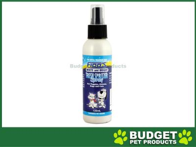 Fidos White and Bright Spritzer Cologne Perfume Spray For Dogs And Cats 125ml