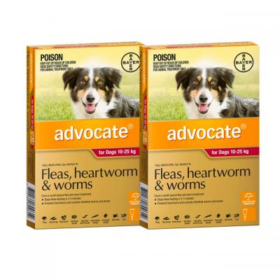 Advocate For Dogs Large Red 10-25kg 12 Pack