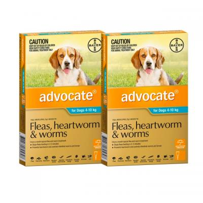 Advocate For Dogs Medium Blue 4-10kg 12 Pack