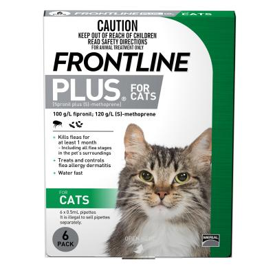 Frontline Plus For Cats 6 Pack