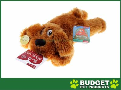 Yours Droolly Muff Pup Keep Me Close Soft Plush Toy Large For Dogs