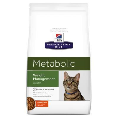 Hills Prescription Diet Feline Metabolic Chicken Dry Cat Food 1.5kg (10362HG)