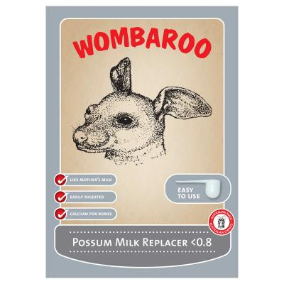 A Wombaroo Possum Milk Under 0.8 160gm