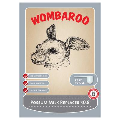 Wombaroo Possum Milk Under 0.8 160gm